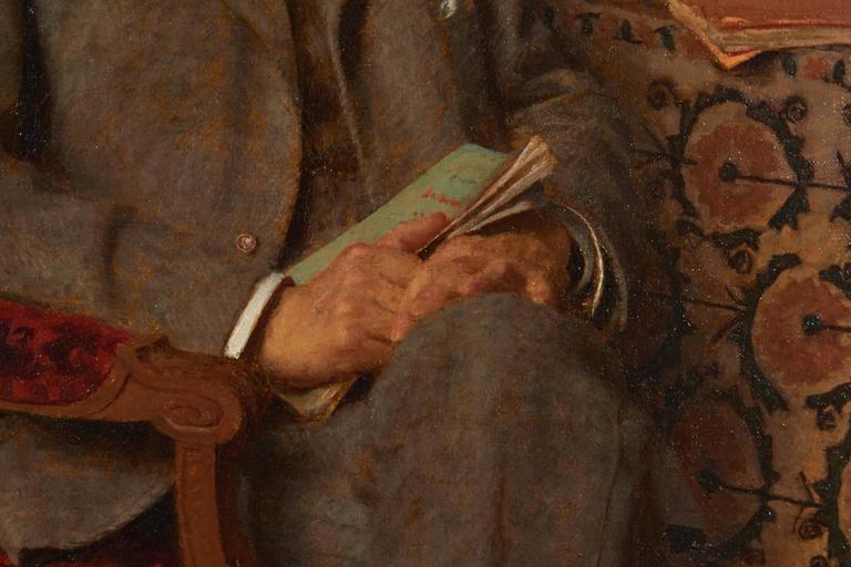 Portrait of Gentleman by Edward de Jans 3