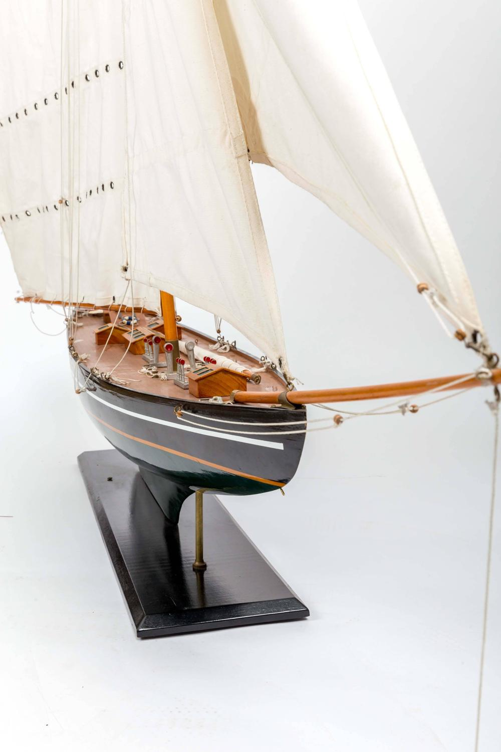 Large Scale Pond Yacht For Sale At 1stdibs