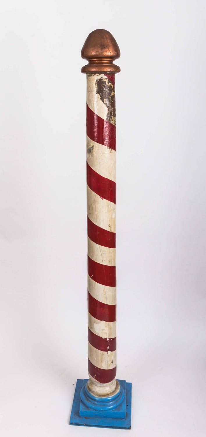 Vintage Barber Pole at 1stdibs