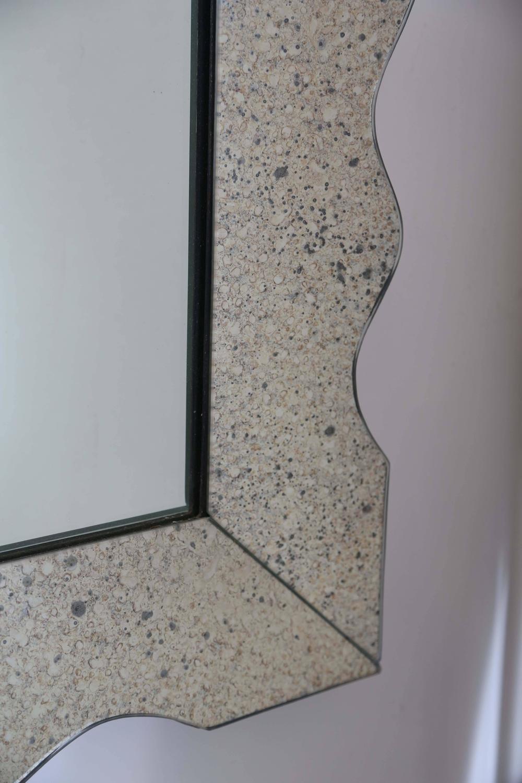 vintage mercury glass mirror for sale at 1stdibs. Black Bedroom Furniture Sets. Home Design Ideas