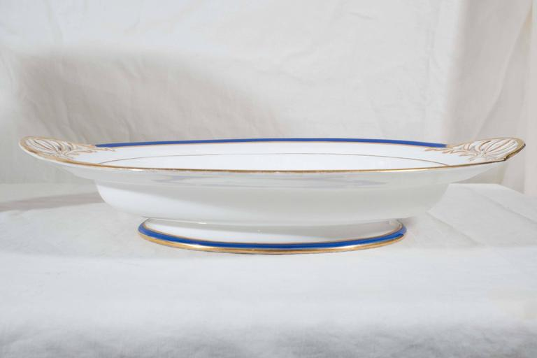 Late 19th Century Antique Irish Armorial Dishes with the Arms of the Family of Perceval circa 1870 For Sale