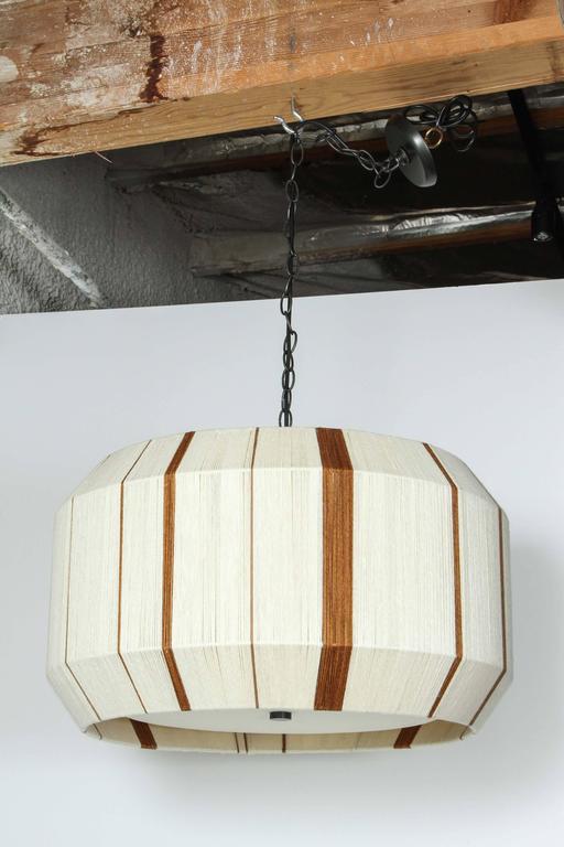 Paul Marra Hand-Dyed String Pendant - Chandelier 7