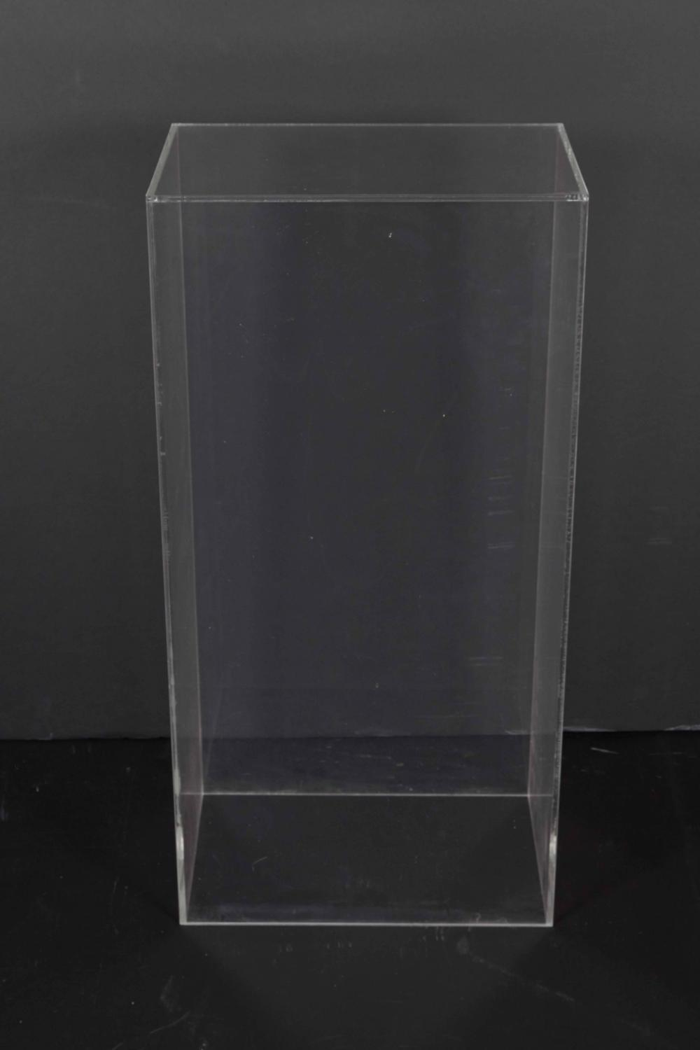 Clear Acrylic Pedestal For Sale At 1stdibs