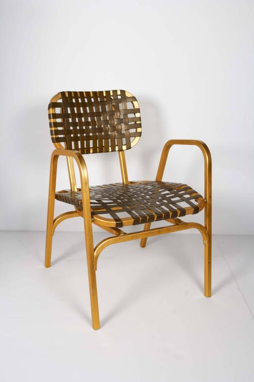 Pair of 1950's Mid-Century Modern Leisure Garden or Patio Chairs 5