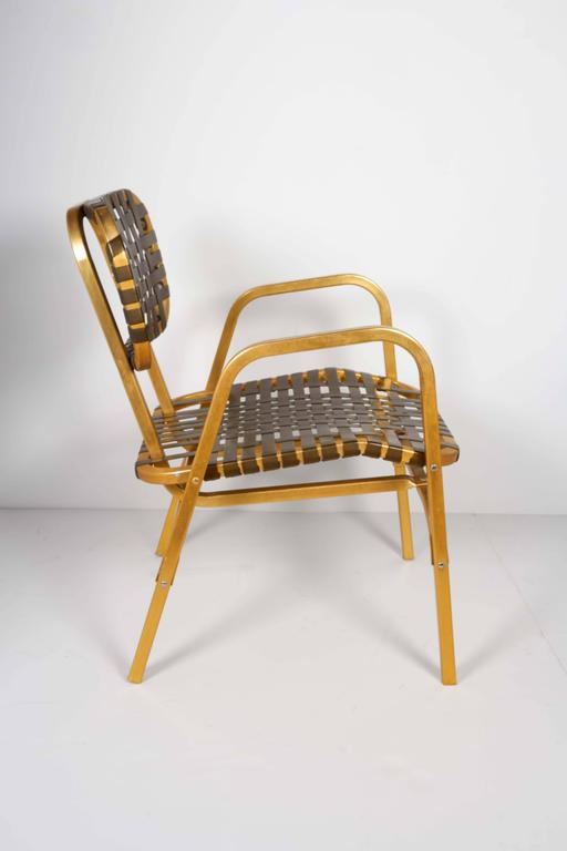 Pair of 1950's Mid-Century Modern Leisure Garden or Patio Chairs 6