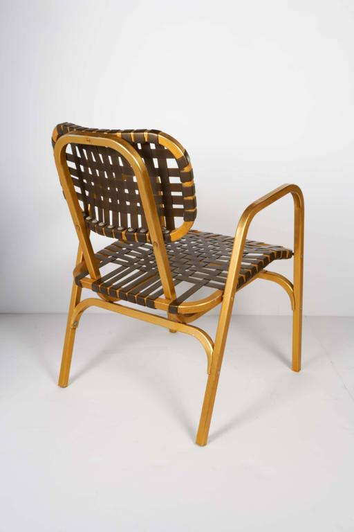 Pair of 1950's Mid-Century Modern Leisure Garden or Patio Chairs 7