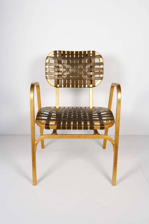 Pair of 1950's Mid-Century Modern Leisure Garden or Patio Chairs 4