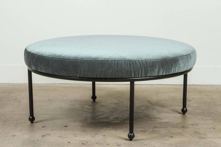Contemporary Orsini Ottoman by Lawson-Fenning For Sale