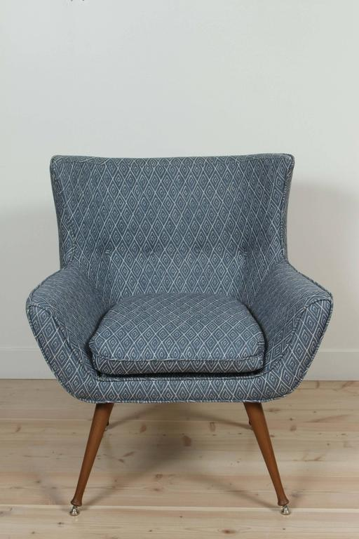 Tipton chair by Lawson-Fenning. Available to order in customer's own materials with a six-eight week lead time.  To order: $1,550.