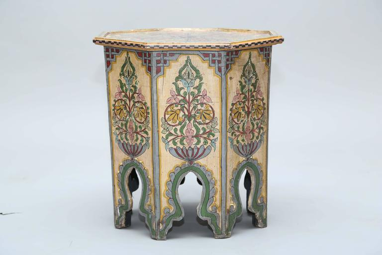 High Quality Hand Painted Anglo Indian Side Table 2