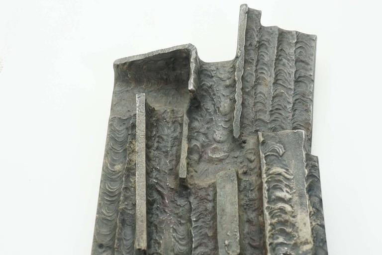 German Welded and Steel Sculpture For Sale