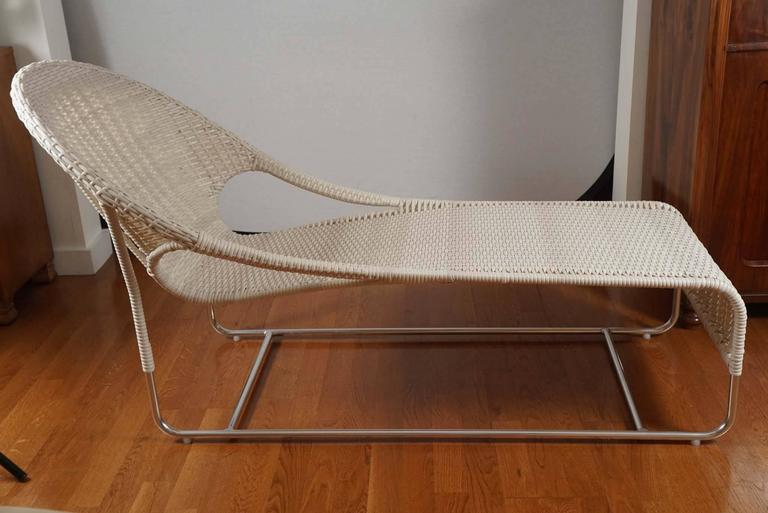 Cabo Chaise In Excellent Condition For Sale In Hudson, NY