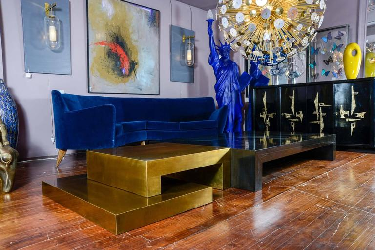 Contemporary Signed Coffee Table