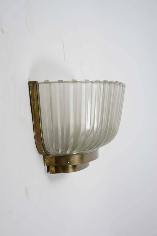 Elegant Set of Art Deco Style Wall Sconces at 1stdibs