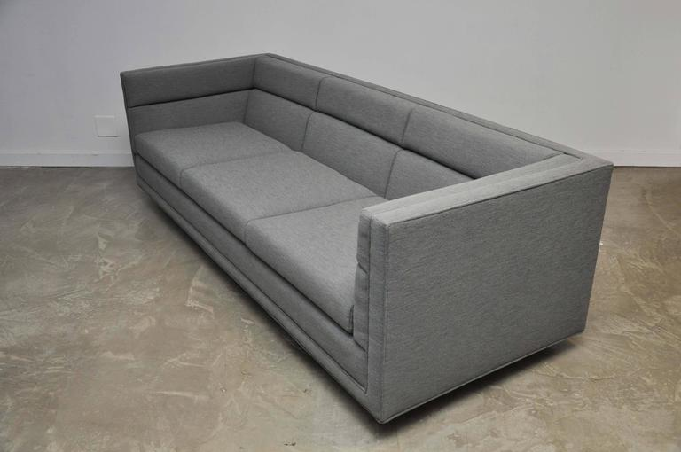 American Dunbar Model 7140 Channel Sofa by Roger Sprunger For Sale