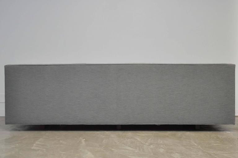 Dunbar Model 7140 Channel Sofa by Roger Sprunger In Excellent Condition For Sale In Chicago, IL