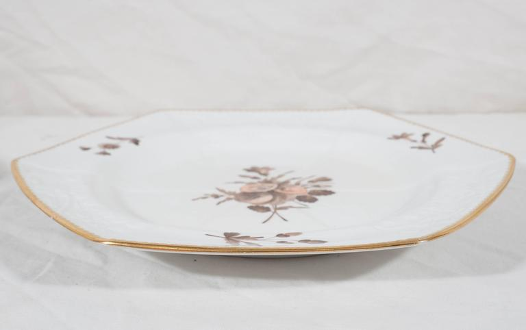 Spode Pink and Brown Toned Dishes For Sale 1