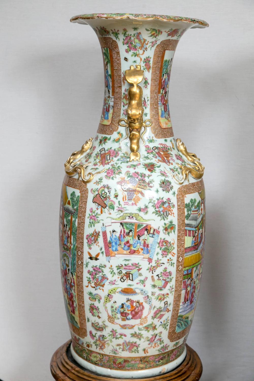 Wood Floor Vase