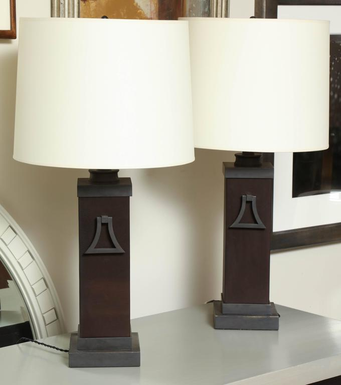 Pair of Mont Lamps 5