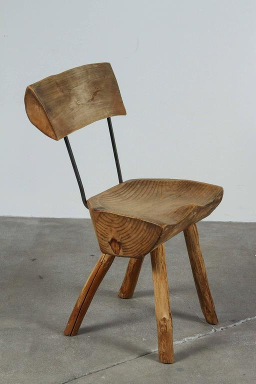 20th Century Rustic Log Chair For Sale