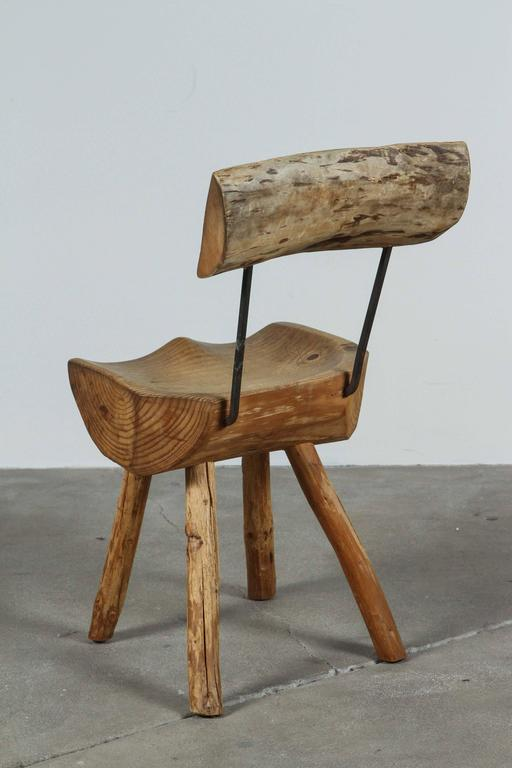 Rustic Log Chair For Sale 2