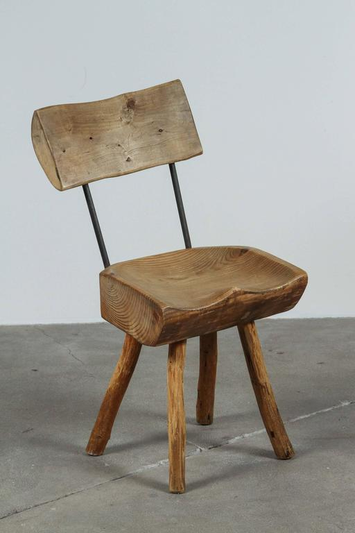 Rustic Log Chair For Sale 3
