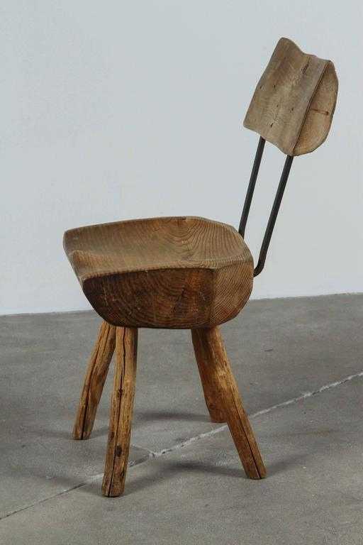 Rustic Log Chair For Sale 4