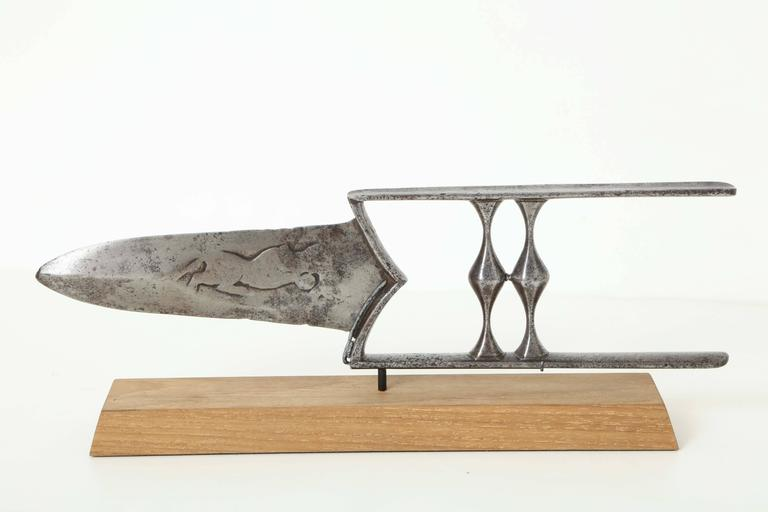 19th Century Indian Steel Katar 7