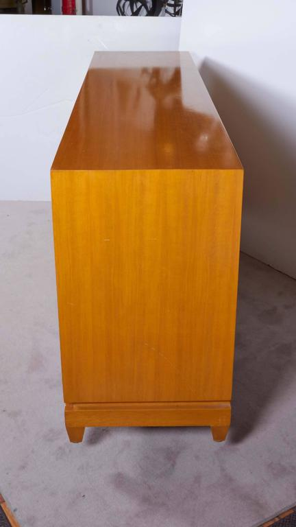 Tommi Parzinger Bleached Mahogany Sideboard For Sale 3