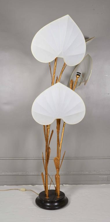 Late 20th Century Antonio Pavia Palm Floor Lamp For Sale