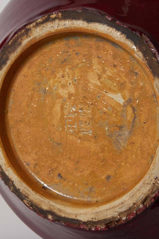 Chinese Flame Glazed Vase 6
