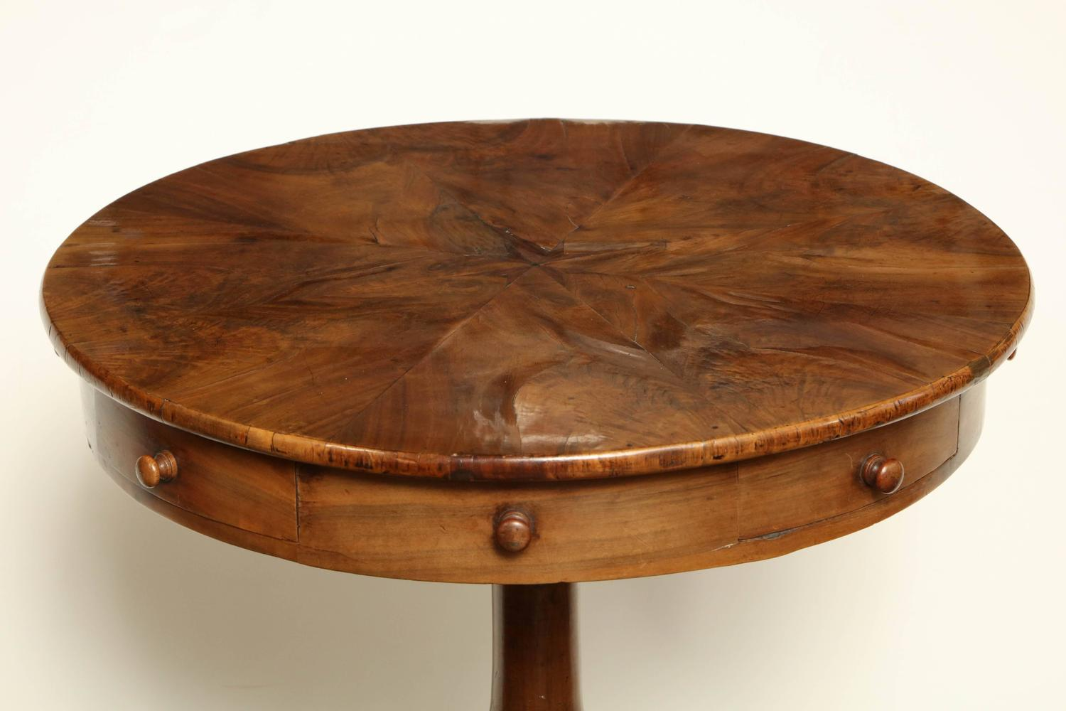 Early 19th century maltese fruitwood side table with four for 123 william street 19th floor new york ny 10038
