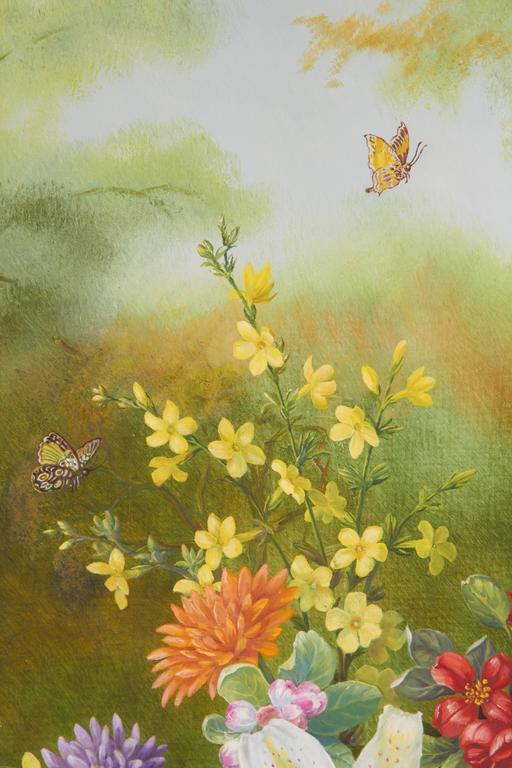 English Ethelwyn Shiel Still Life Floral Painting For Sale