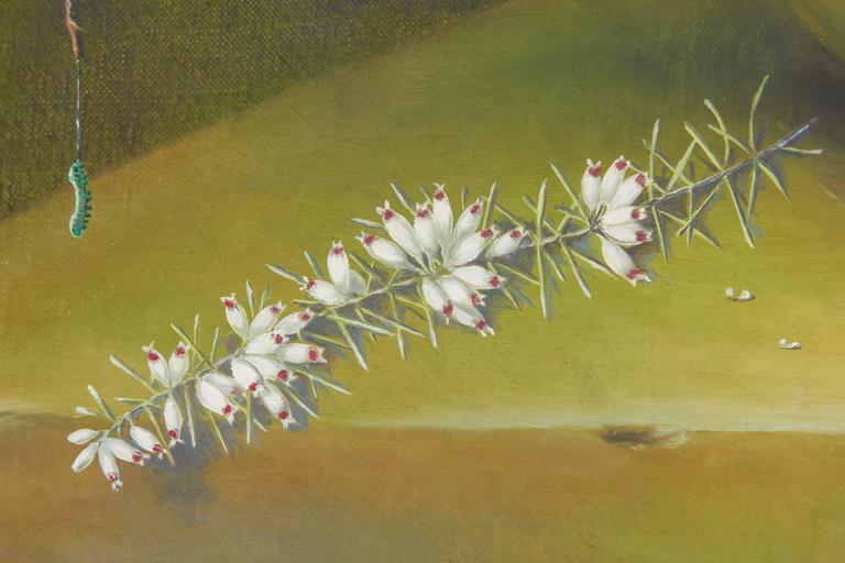 Oil Ethelwyn Shiel Still Life Floral Painting For Sale