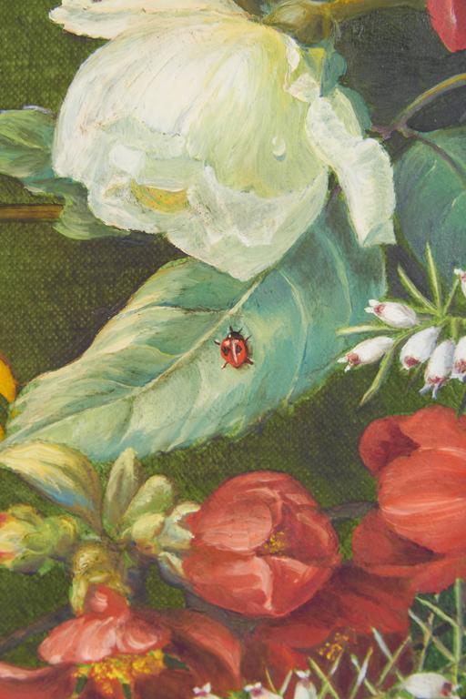 Ethelwyn Shiel Still Life Floral Painting For Sale 3
