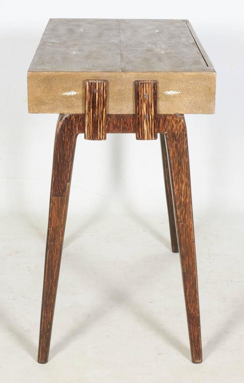 Mid-Century Modern Charming Side Table or Nightstand by R & Y Augousti, Paris For Sale