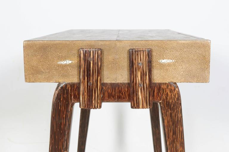 French Charming Side Table or Nightstand by R & Y Augousti, Paris For Sale