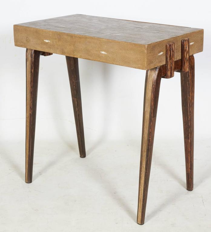 Charming Side Table or Nightstand by R & Y Augousti, Paris In Good Condition For Sale In New York, NY