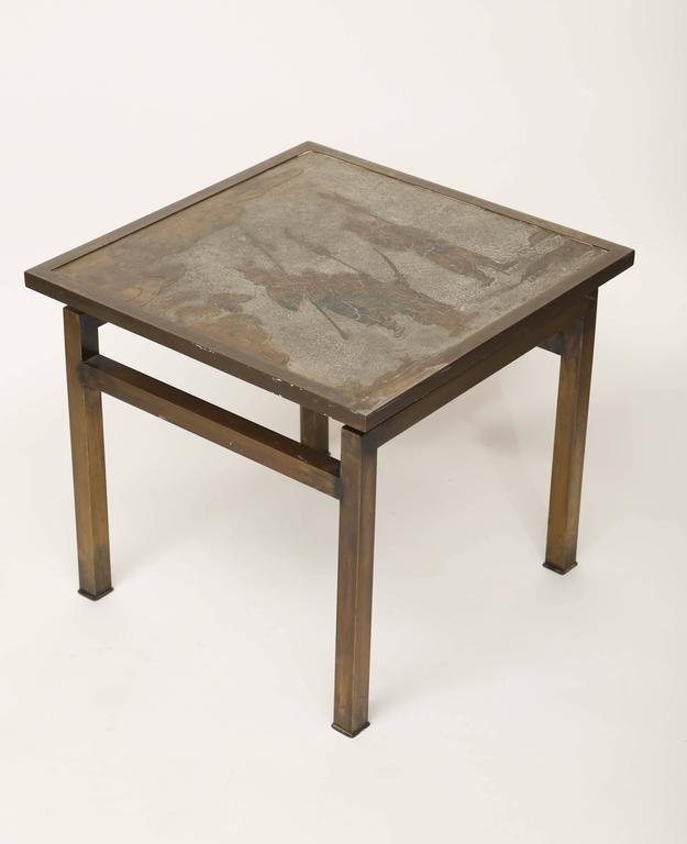American Philip & Kelvin Laverne Ming Side Table For Sale
