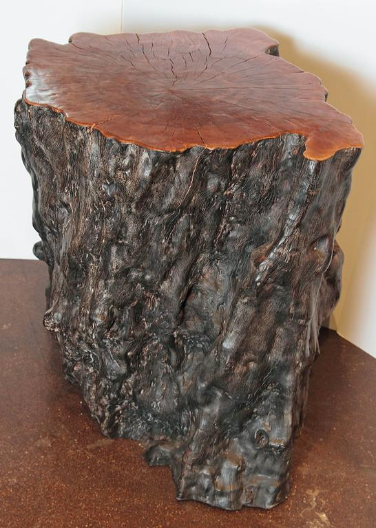 Organic Lychee Wood Stump For Sale At 1stdibs