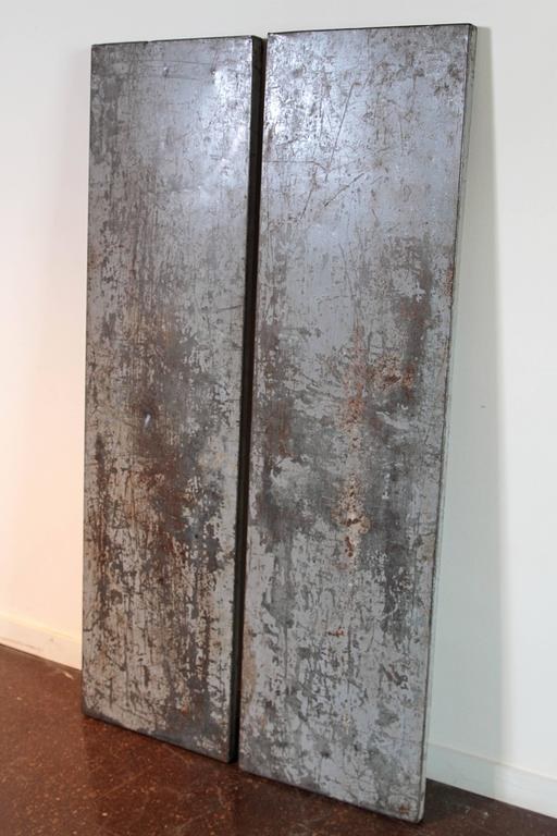 Wall Art Metal Panels : Vintage architectural metal wall decor panels at stdibs