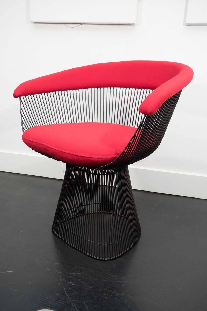 Six Warren Platner Dining Chairs For Knoll For Sale At 1stdibs