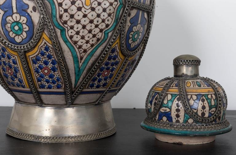 Antique Moroccan Urn From Fez At 1stdibs