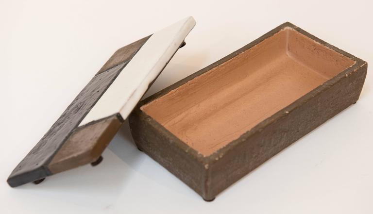 """Bitossi """"Mondrian"""" Style Box, circa 1959 3"""