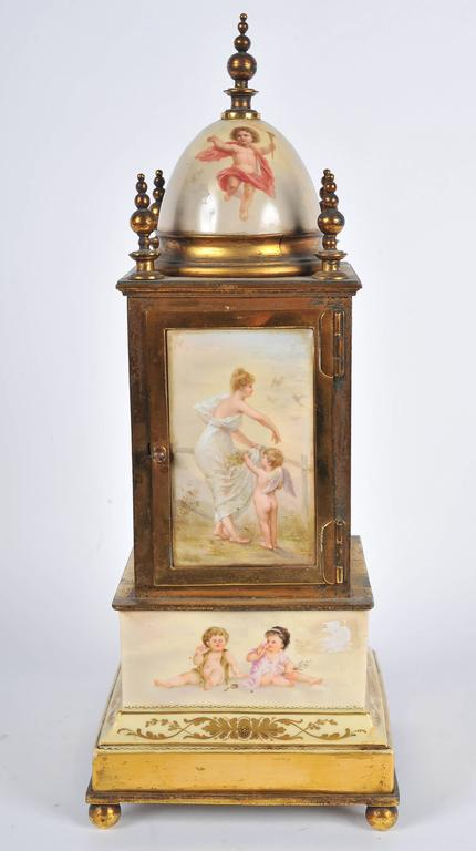 Austrian 19th Century Mantel Clock For Sale