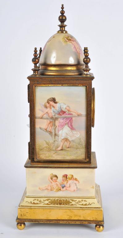 19th Century Mantel Clock For Sale 1