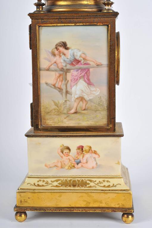 19th Century Mantel Clock For Sale 2