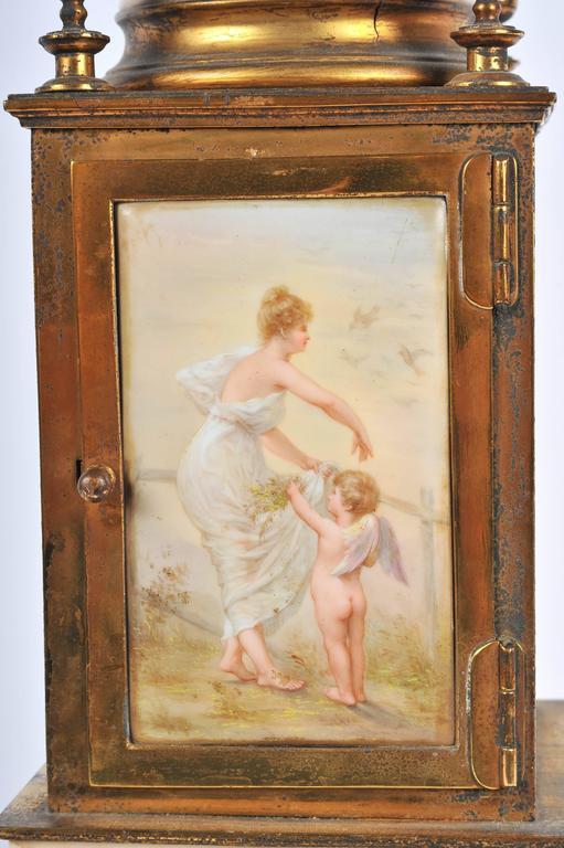 19th Century Mantel Clock For Sale 3