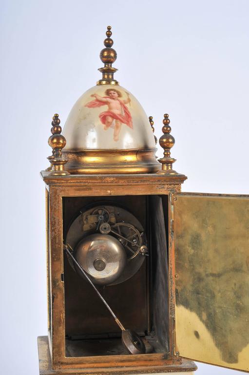 19th Century Mantel Clock For Sale 4