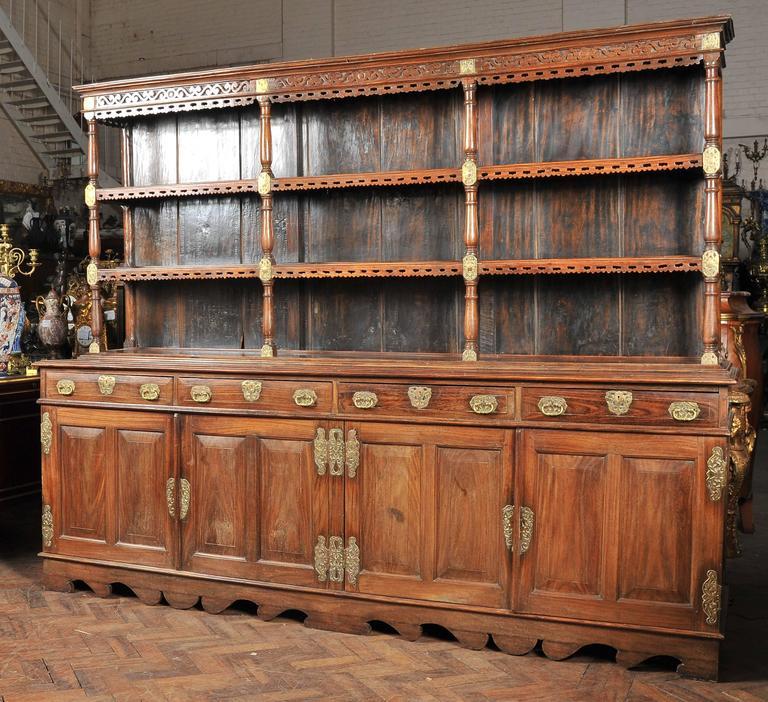 Sri Lankan 19th Century Ceylonese Padouk Wood Dresser For Sale